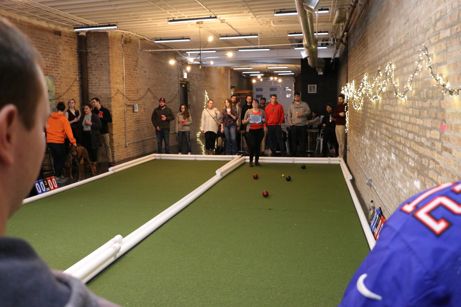 Bocce Ball Double Court Ae Es Amusement Event Trade Show